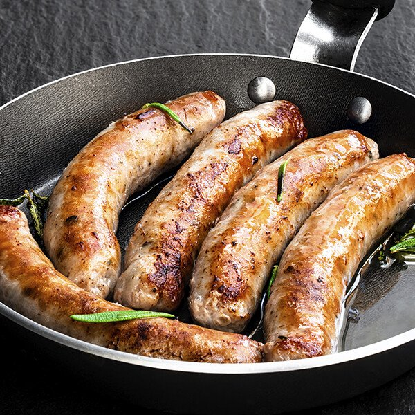Traditional Duroc Pork Breakfast Links - Cooked