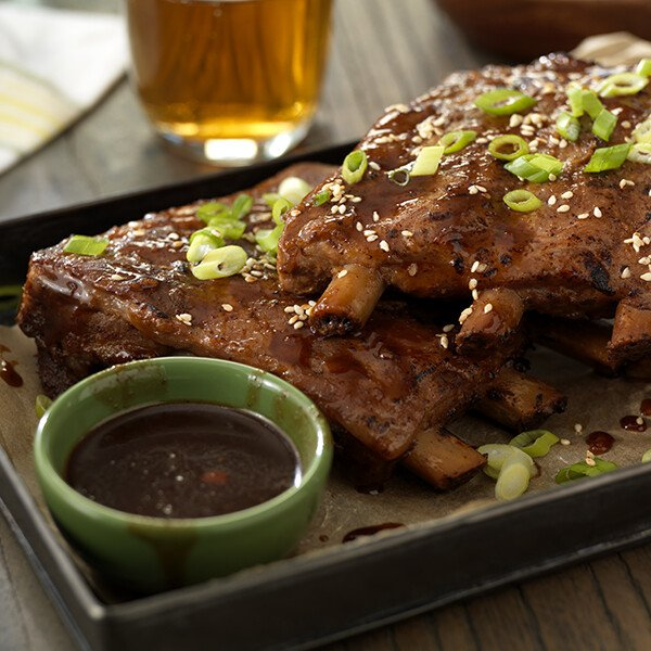 St. Louis Style Duroc Pork Spare Ribs - Cooked